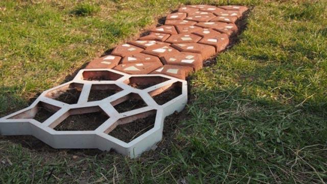 Сделал тротуарная плитка своими руками
